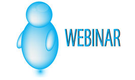 Webinar Icon Royalty Free Stock Photo