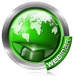 Webinar Icon - Web-based Seminar Stock Image