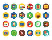 Webinar Icons Vector Set. Learn, Education or Stock Photography