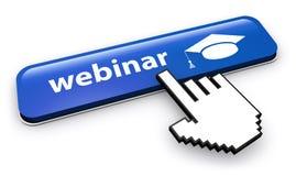 Webinar Online Workshop Button Stock Photography