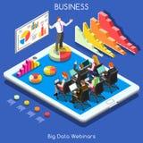 Webinars 01 Business Isometric Stock Photography