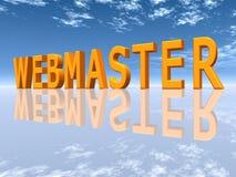 Webmaster Royalty Free Stock Photo