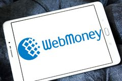 WebMoney payment company logo Stock Photo
