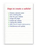 Webontwerp Stock Foto