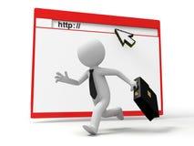 Webpage Stock Photo