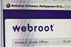 Webroot image stock