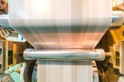 Webset offset printing press Stock Images