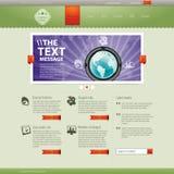 Website. Modern website business design template