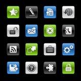Website & Internet plus de Reeks van // Gelbox vector illustratie