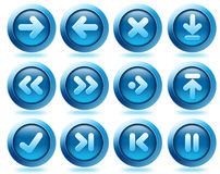 Website arrow icons Stock Photo