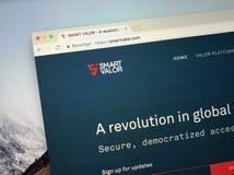 Website av SMART MOD royaltyfri fotografi