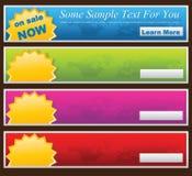 Website banner. Vector clean Website Design Banner Stock Photography