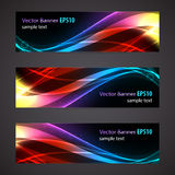 Website banner or header set. Royalty Free Stock Images