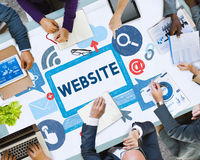 Website Browser Internet Technology Connection Concept.  stock photography