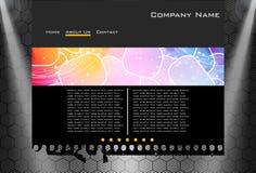 Website business template Stock Photos