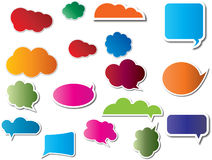 Website buttons or stickers Royalty Free Stock Photos