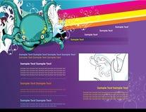 Website  cartoon characters Royalty Free Stock Image