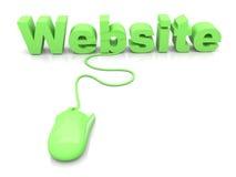 Website royalty free illustration
