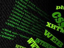 Website code vector illustration