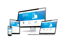 Website coding development with responsive web des