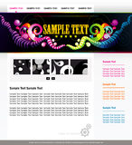 Website colors template Stock Images
