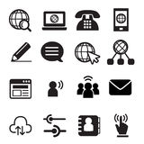 Website communication icon. Vector illustration Graphic Design Royalty Free Stock Image