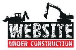 Website construction vector illustration