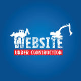 Website construction Royalty Free Stock Images