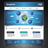 Website Design Stock Image
