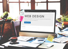 Website Design Homepage Layout Creativity Concept. Website Design Homepage Layout Creativity Stock Image