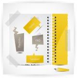 Website design template. Vector EPS10 Stock Photography