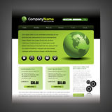 Website design template Royalty Free Stock Photography