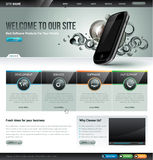 Website design template royalty free illustration