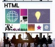 Website Design UI Software Media WWW Concept. Business People Website Design UI Software Media stock image
