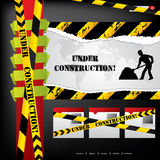 Website design under construction Stock Photo