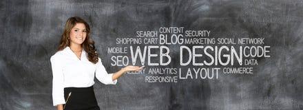 Website Designer stock image
