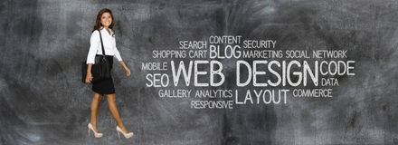 Website Designer stock images