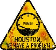 Website down sign, vector illustration. Website failiure sign, `Houston we have a problem`, vector illustration, fictional vector art royalty free illustration