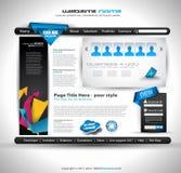 Website - Elegant Design Royalty Free Stock Image