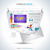 Website - Elegant Design Stock Photo
