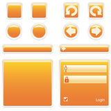 Website Elements. Buttons vector illustration
