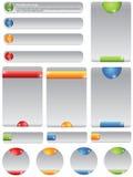 Website elements. Vector clean Website Design Elements Stock Photography