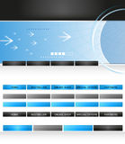 Website elements Stock Images
