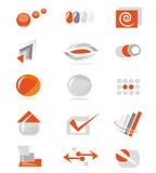 website för elementset stock illustrationer