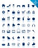 website för serie för symbolsinternetfritid Arkivfoto