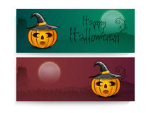 Website header or banner for Halloween Party celebration. Stock Image