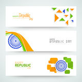 Website header or banner of sale with national flag colors. Royalty Free Stock Images
