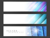 Website header or banner set. Stock Photos