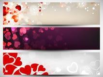 Website header or banner set Stock Images