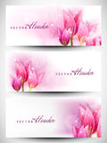 Website header or banner set Stock Image
